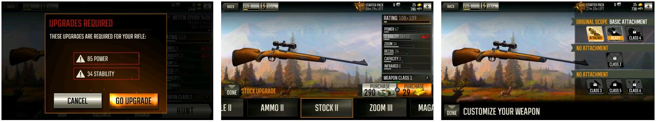 Deer Hunter 2016 Weapon Systems